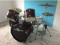 Drum Kit in good condition. Ideal Christmas present for your budding drummer.