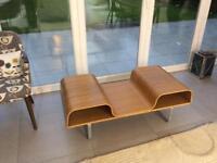 Vintage bentwood coffee table