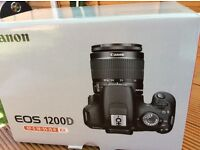 Canon 1200D EOS 18 MP for sale brand new still in box unwanted gift £230