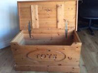 Pine Toy Chest