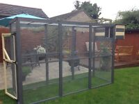 Quality pet enclosures bird aviaries,rabbit runs,hen coops,cat/dog pen kennels s
