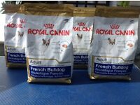 Royal Canin French Bulldog dog food.