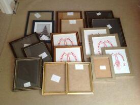 Picture Frame Bundle - 17 frames