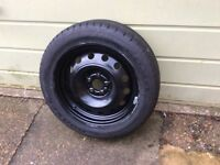 "16"" steel wheel and tyre. New unused."