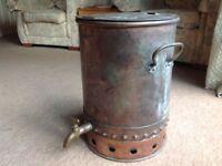 Vintage Copper Tea/Water Urn