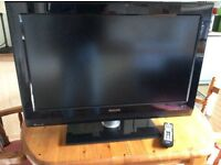 "Philips 32"" LCD widescreen flat TV"