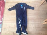 Official Tottenham Hotspur (Spurs) onsie, aged 3-4 years