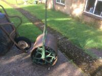 Vintage Cast Iron Grass Roller