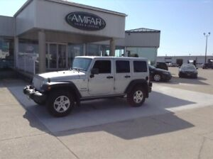 2012 Jeep Wrangler LOW KMS / 4 DR / 6 MONTHS NO PAYMENTS