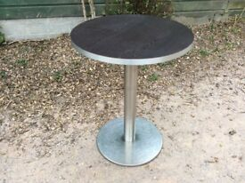 Round tables suitable for Café/Restaurant/Bistro (7 in total)