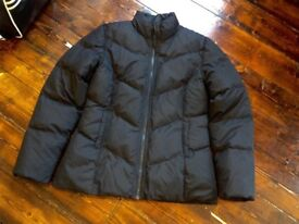 Worn Once Size 10-12 Black Puffer a Jacket