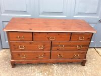 Old Marks & Spencer Chest of Drawers. 7 drawers. Great condition.