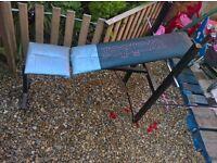 weight bench £12