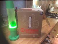 Lava lamp, Mathmos original, green.