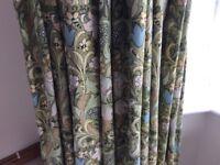 William Morris Linen Curtains