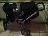 Jane Powertwin double pushchair for sale
