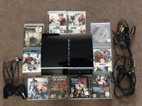 PlayStation 3 80gb in good condition