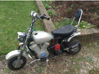 Childs mini motorbike