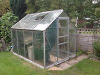 Aluminium Greenhouse 8'x6'