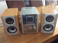 Panasonic MD Mini Disc, CD, Cassette FM/AM radio stereo system