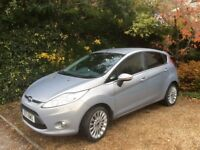 2011 Ford Fiesta Titanium, Low mileage, Park assist + reversing camera, Micastone, Privacy glass