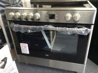 Beko 90cm single cavity electric cooker. RRP £500 new/graded 12 month Gtee
