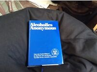 Alcoholics Anonymous Big Book 4th edition.