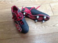 Size 3 Boys Canterbury Rugby Boots