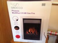New unused gas fire for sale