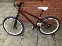 Custom built Dirt jump bike
