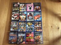 PS2 games console and games bundle