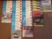 Safer Motoring (VW) magazines 1970- 1974