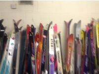 Reasonably priced Ski Equipment. All makes , all sizes. Children's Adult .