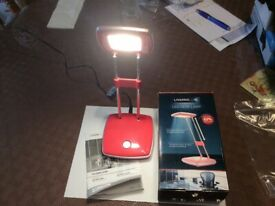 Desk lamp pink led with box