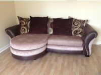 Sofa, snug and matching arm chair.