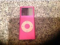4g pink Ipod-good condtion