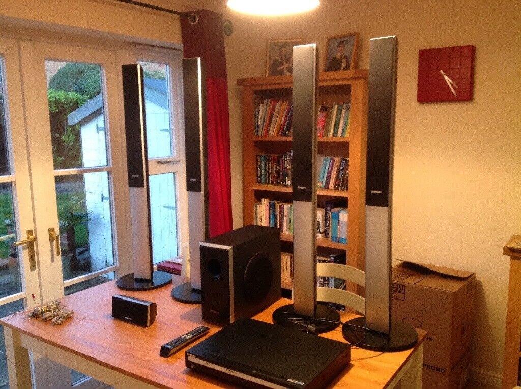 SAMSUNG SURROUND SOUND SYSTEM with DVD PLAYER inc. FM Radio