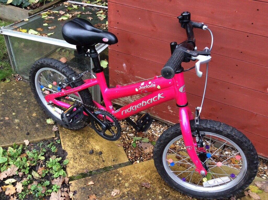 Girl's 16 Ridgeback Melody Bike