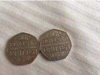 Benjamin Britten 50p coins