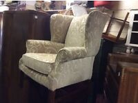 REDUCED queen Ann chair