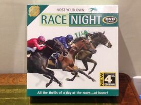 HOST YOUR OWN RACE NIGHT DVD game in unopened box