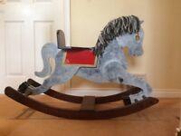 Beautiful Rocking Horse, Handmade