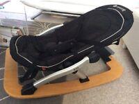Concord Rio baby rocker reclining chair black excellent condition