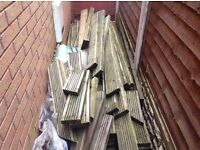 Decking, various sizes, to be collected ASAP