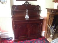 Mahogany reproduction effect Sideboard