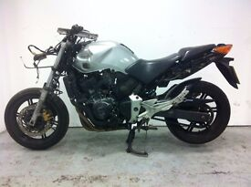 Honda CBF600 SA-A project 2005 for sale for spare/repair and parts only no warranty