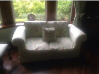 2x2 seater sofas +1 single matching chair uplift only in Brookfield