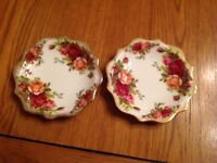 Old Country Rose Royal Albert dishes