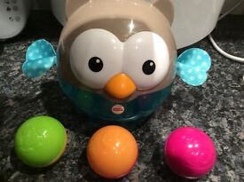 Fisher price chime owl and balls
