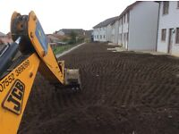 MINI DIGGER, Plant hire, DRAINAGE, FOUNDATIONS, ROADS,HEDGE AND TREE REMOVAL, PATHS, DRIVEWAYS, ETC